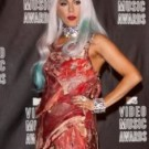 LadyGaGaVMAsMeatDress